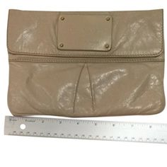 For Sale: Marc Jacobs  LeatherClutch for $150