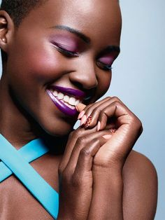 Lupita Nyong'o such an inspirational actress.Making us Kenyans and all women of colour across the globe so proud
