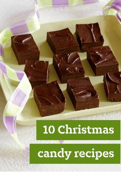 10 Christmas Candy Recipes — Christmas candy recipes are a labor of love—and one of the easier homemade edible gifts to make! Here you'll find all the favorites for gift-giving or for the Christmas desserts table.