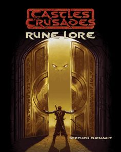 RUNE LORE for Castles & Crusades: Three schools of runic magic, 40 new spells, the Rune Mark character class, and a lengthy guide to the Gottland campaign setting.