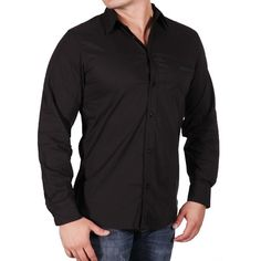 I found this amazing Dress Shirt - Black at nomorerack.com for 75% off. Sign up now and receive 10 dollars off your first purchase