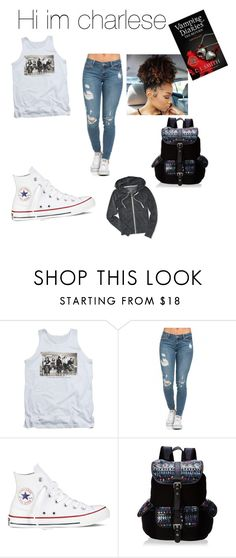 """""""charlese at school"""" by maryjsullivan ❤ liked on Polyvore featuring Converse, Wild Pair and Aéropostale"""