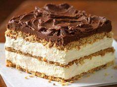 Graham cracker eclair pudding cake or pie