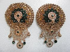 Chanedlier pasties by Etsy user: strippedbeautiful
