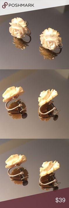 ❤️ANTIQUE 1930's SCREW BACK EARRINGS ANTIQUE 1930's SCREW BACK EARRINGS Jewelry Earrings