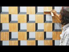 Fal Decor, Home Decor, 3d Wall Painting, 3d Design, Illusions, 3 D, Carving, Quilts, Anaconda