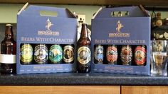 Broughton Ales selection of beers to review soon.