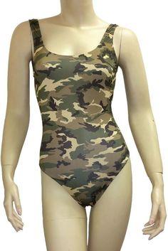Women'S Camo Bikini 1-Piece Swimsuit Blue True Timber Beach Swimwear Oak