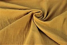 Baumwolle Musselin/Double Gauze Sabbertuch/Spucktuch Uni divers. Farben - 05 Meter - 130 cm Breit (034 Senf) - 4.25 - 5.0 von 5 Sternen - DIY Stoffe und so Antelope Canyon, Mustard, Fabrics, Colors, Cotton