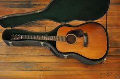 Vintage 1965 Martin D-18 Acoustic Guitar...i used to hide chocolate chips in mine...