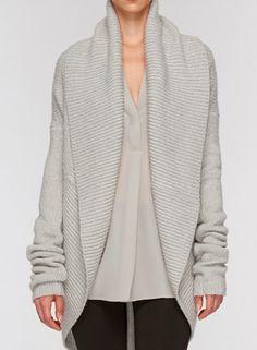 aa4ace10be0a13 Vince sweater Jacket Style, Knits, Knitwear, Crocheting, Tejidos, Knitting