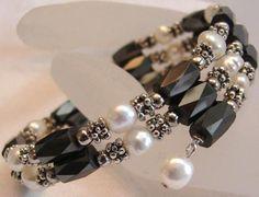 Magnetic Freshwater Pearls Wrap Bracelet