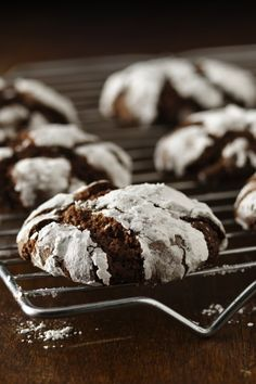 A classic chocolate crinkle cookie, now Gluten Free!Follow my personal GFDF Board: @hannah_hansen2 https://www.pinterest.com/hannah_hansen2/gfdf/