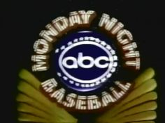 Image result for abc monday night baseball