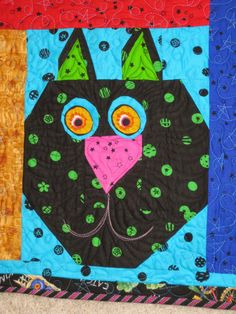 MARY LOU AND WHIMSY TOO: A Wonderful week ahead and colorful photo of Story quilts and a great idea!