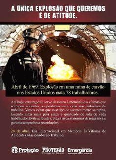 BRADO CONSULTORIA E SERVIÇOS LTDA.: EM MEMÓRIA ÀS VÍTIMAS DE ACIDENTES DE TRABALHO
