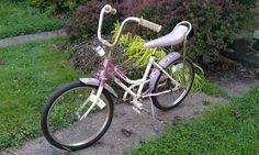 "Vintage Huffy 20"" Girl's Cruiser Bike 1971 Purple Huffy. Had one just like it, but in dark purple."