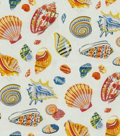Home Decor Print Fabric-Waverly Low Tide/Nautical at Joann.com