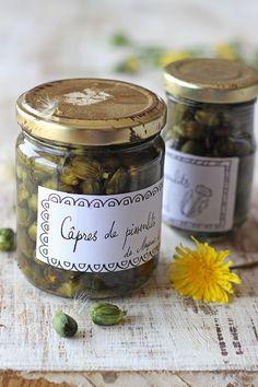 Pickles, Veggie Recipes, Vegetarian Recipes, Dandelion Recipes, Edible Flowers, Vegetable Salad, Chutney, No Cook Meals, Food Inspiration