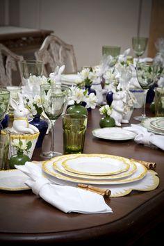 Mais uma mesa linda de páscoa!! Coelhinhos e produção Home by Suva! #eastertime