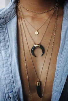 hoops + pendants