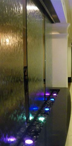 midwest tropical water features indoor water walls and fountains