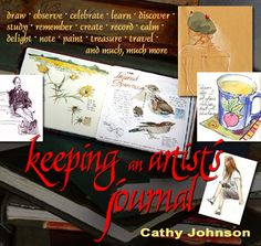 Cathy Johnson, Graphics/Fine Arts, Excelsior Springs, Missouri (Keeping an artist's journal: online class)