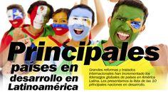 TOP 10: Principales países en desarrollo en Latinoamérica, 2014