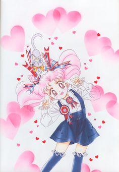 美少女戦士セーラームーン原画集 Bishoujo Senshi Sailor Moon Original Picture Collection Vol.3 - by Naoko Takeuchi - Title page of the March 1995 Run-Run