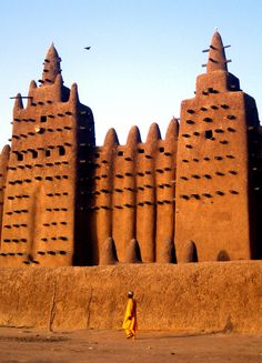 The Great Mud Mosque of Djenné   Mali
