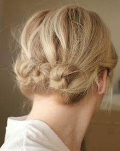Coiffure cheveux couts | Coiffure simple et facile