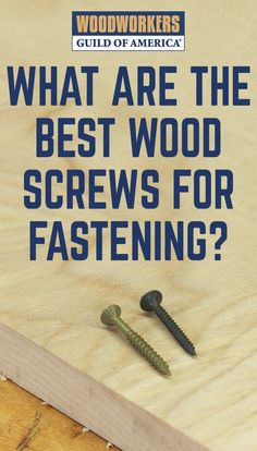 There are numerous approaches to fastening wood together, and part of what distinguishes the talented craftsman is his or her ability to use the right option in any given situation. One tried and true joinery workhorse that should be in the arsenal of any woodworker is wood screws. This humble fastener boasts some impressive characteristics, such as its low cost, ease of use, durability, ubiquitous availability, and impressive holding power.