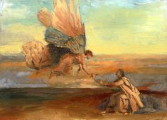 STUDY OF ATHENA AND ODYSSEUS  From Homer's Odyssey  by John Rush