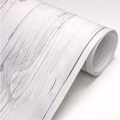 Vintage-White-Wood-Panel-Vinyl-Self-Adhesive-Peel-Stick-Wallpaper-no344