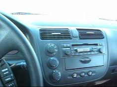 ▶ How to install a new radio in a 2004 Honda Civic 1 of 3 - YouTube