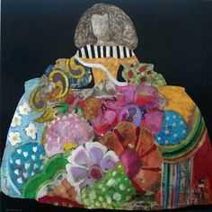 comprar meninas de ceramica - Google Search Collages, Modern Art, Contemporary Art, Art Projects, Projects To Try, Painting Collage, Illustrations, Various Artists, Figurative Art