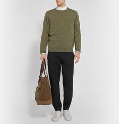 A.P.C. - Cotton-Jersey Sweatpants|MR PORTER