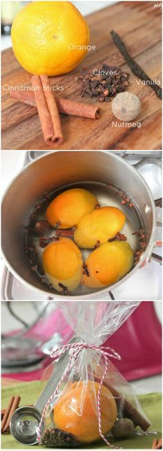 How To Make Stovetop Potpourri, perfect for gift giving or making for yourself to make the house smell amazing!!.