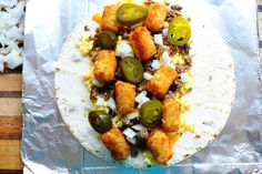 Pioneer Woman's Super Sonic Breakfast Burrito ~These are HEAVEN!! Can't wait to make my own!!