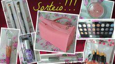 FURTA✰COR: 4° Sorteio Maletinha Rosa + Kit de Make!