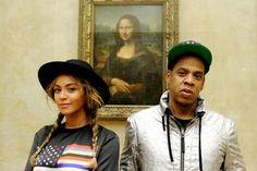 Foto de Beyoncé e Jay-Z com Mona Lisa vira meme - http://metropolitanafm.uol.com.br/novidades/entretenimento/foto-de-beyonce-e-jay-z-vira-meme