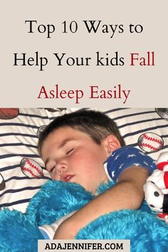 Do you battle to get your child to sleep? Do this battles end up with you feeling exhausted? Are you looking for easier bedtimes, here are 10 tips and tricks for getting kids to sleep at night.