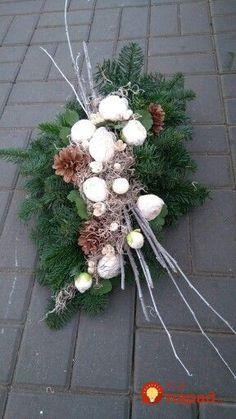 All Saints - Allerheiligen Christmas Flower Arrangements, Funeral Flower Arrangements, Christmas Flowers, Funeral Flowers, Floral Arrangements, Christmas Wreaths, Cemetery Decorations, Christmas Yard Decorations, Flower Decorations