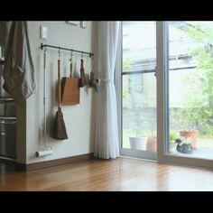 kurumin5さんの、和,塵取り,ほうき,掃除道具,無印良品,暮らし,暮らしの道具,壁/天井,のお部屋写真