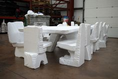 Artist Max Lamb stuns us again with his creation of the 4.8m dining table carved out of a block of expanded polystyrene using a hot-wire cutter. Then with the scrape material, he further cut and reassembled everything to make READ MORE»