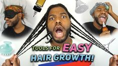 These Helped Me Grow My Hair….more easily! How To Grow Natural Hair, Natural Hair Styles, Long Hair Styles, Help Me Grow, Beauty Hacks, Beauty Tips, Grow Hair, Hair Growth, Easy Hairstyles