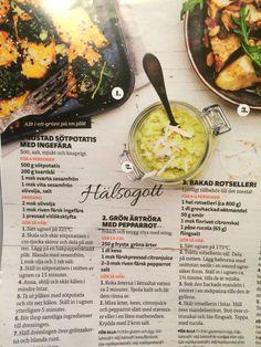 Vegetariska godsaker från buffé tidningen