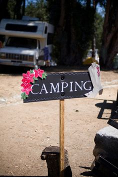Things To Consider When You Go Camping. So, you've decided to go camping? Do you have any idea of what you may be experiencing? While it's pretty basic to know how to camp, it still takes a littl Camping Signs, Camping Glamping, Camping Life, Camping Wedding Theme, Camp Wedding, Wedding Ideas, Outdoor Fun, Outdoor Camping, Camping Outdoors