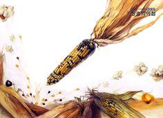 #기초디자인 #홍대앞창조의아침 #옥수수개체 #popcorn #팝콘 #corn #질감표현 #기초디자인화면구성