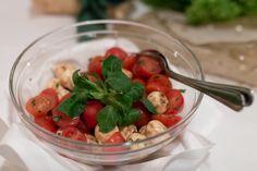 Tomate Mozzarella und Basilikum - ein Klassiker